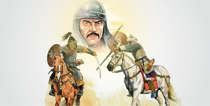 Süleyman Kutalmışoğlu met soldaten te paard