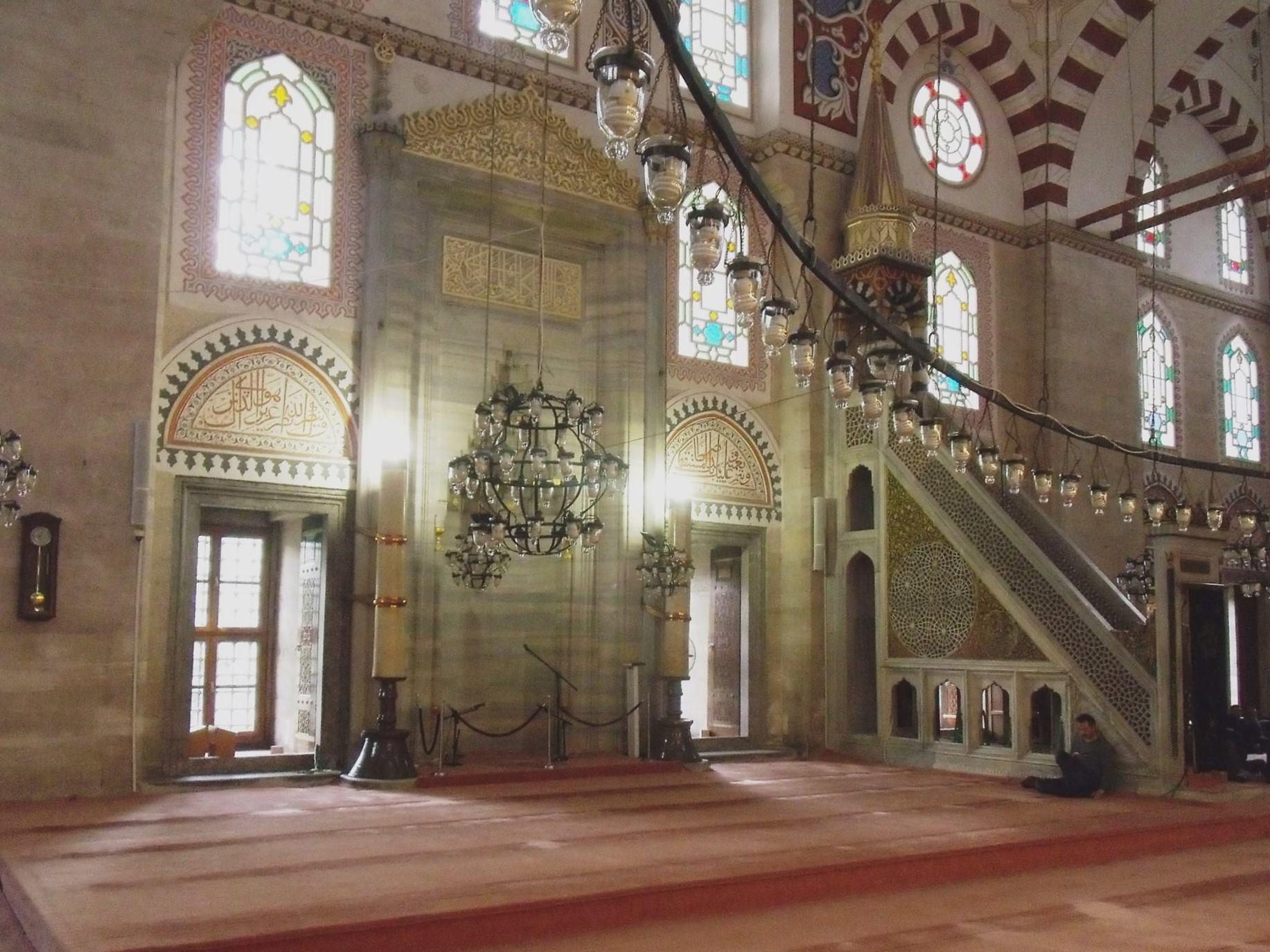 Interieur Şehzade moskee