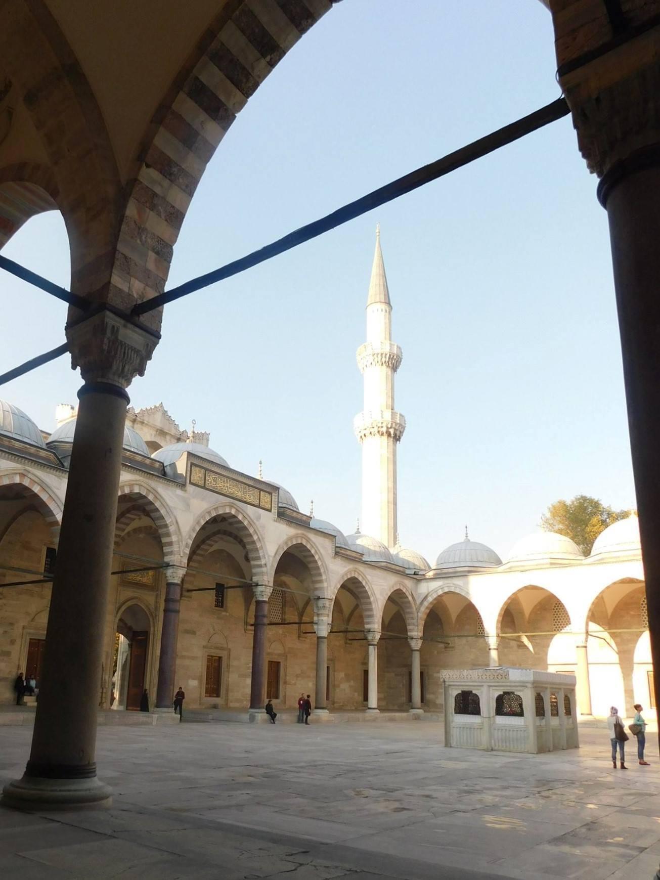 Binnenplaats Süleymaniye moskee