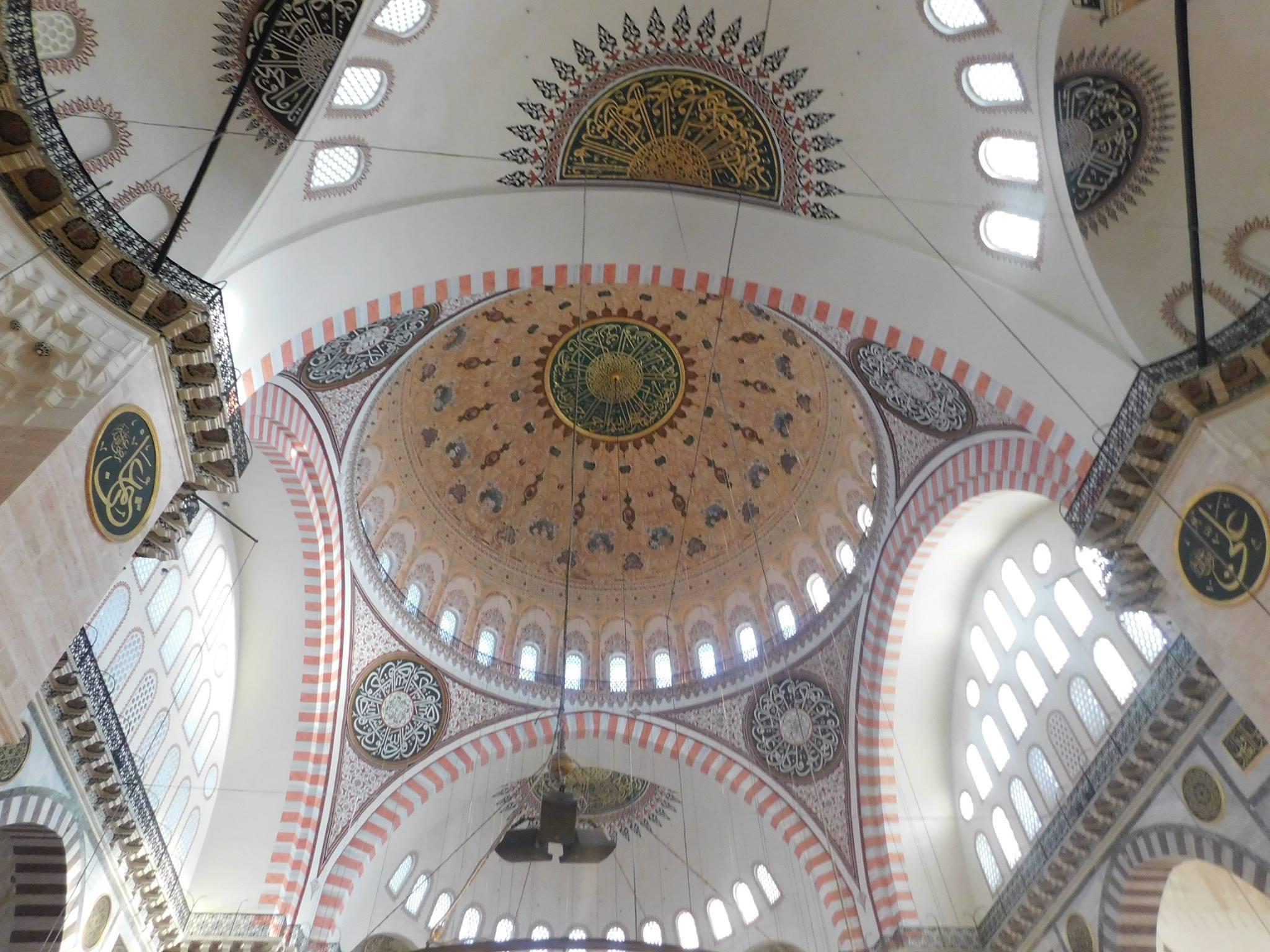Koepel Süleymaniye moskee