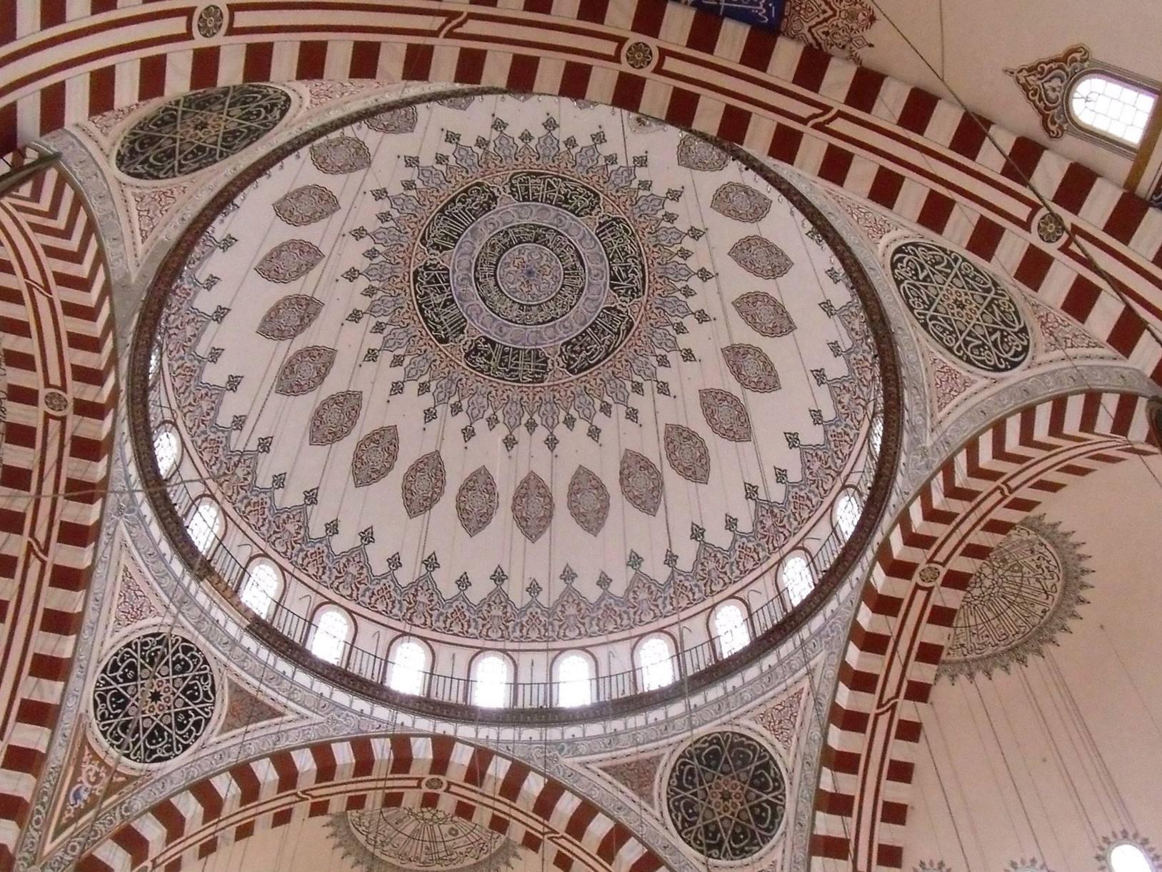 Koepel Şehzade moskee