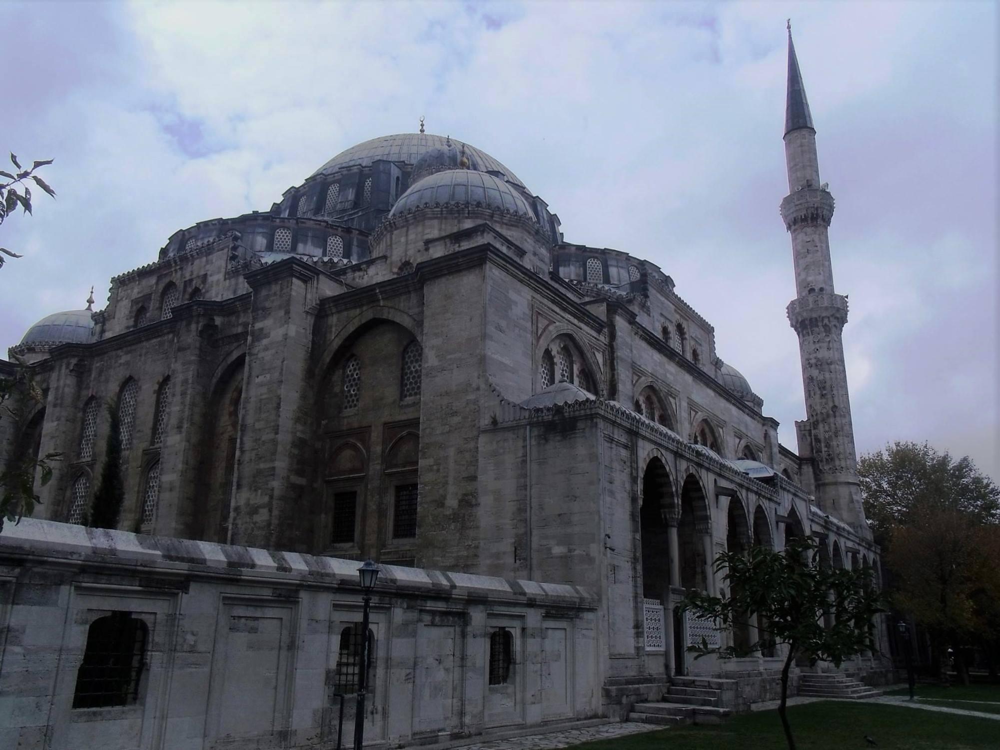 Buitenkant Şehzade Mehmed moskee