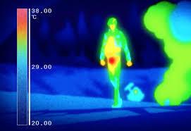 Beeld met infraroodcamera
