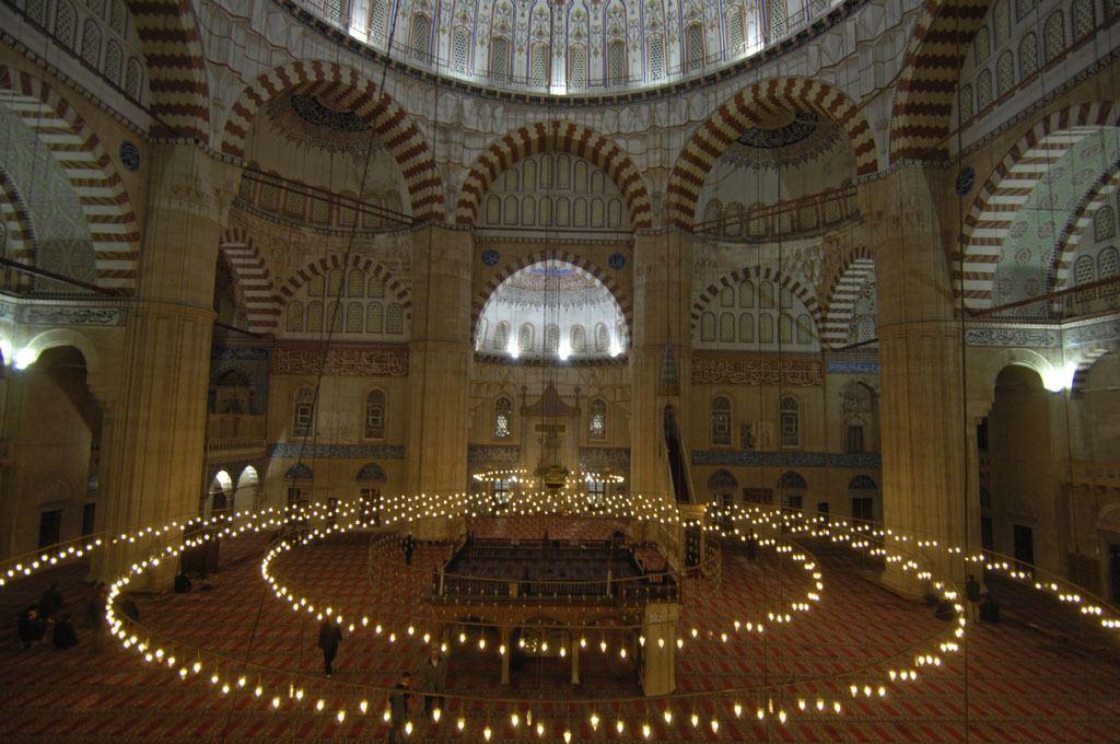 Interieur Selimiye moskee Edirne