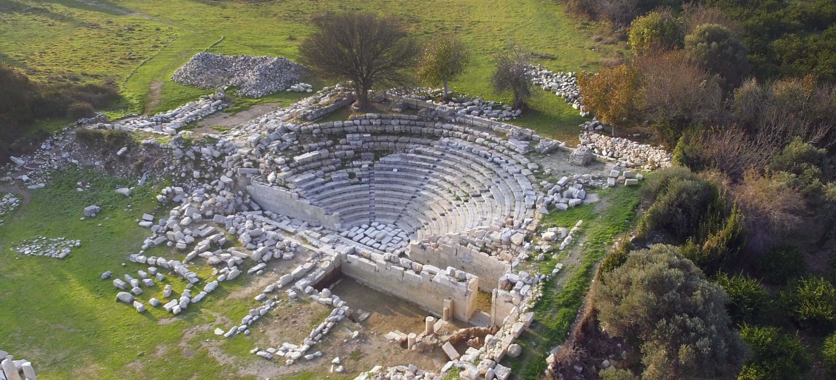 Antieke site Teos