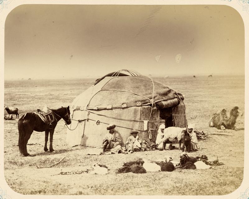 Yurt uit 1860, Kazachstan