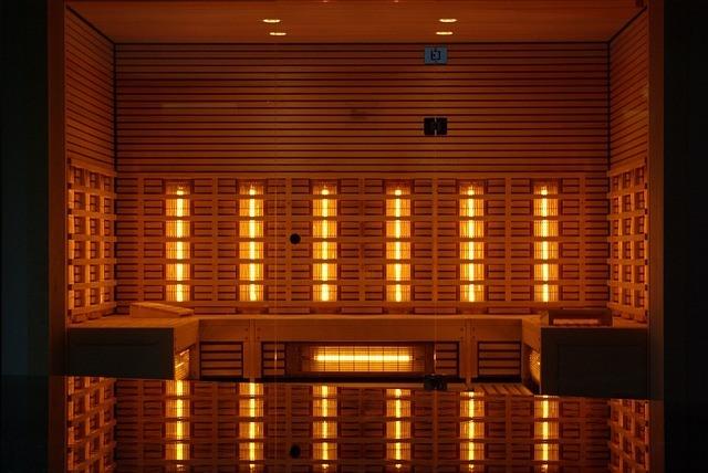 Infrarood sauna, warm als de zon