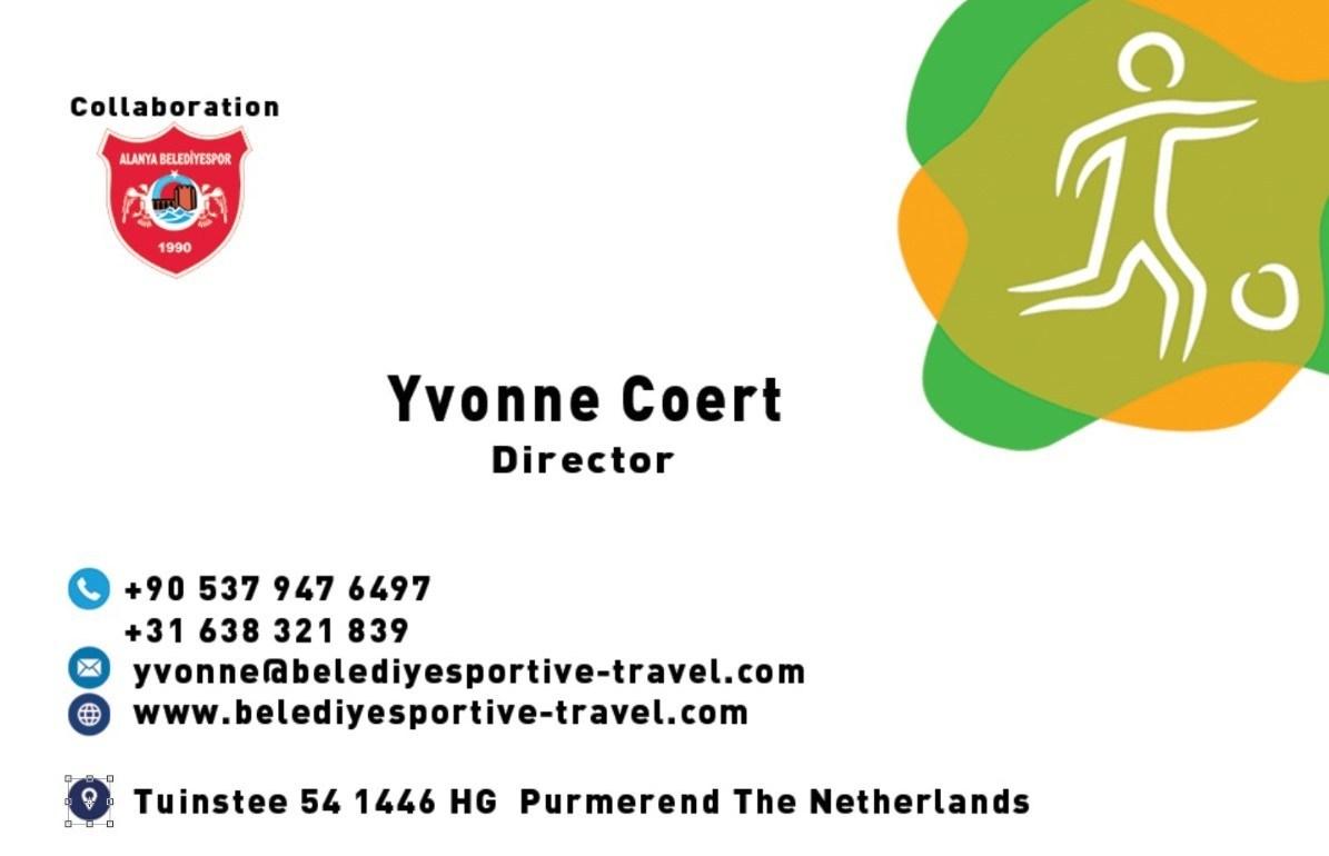 Visitekaartje Yvonne Coert
